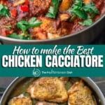 pin image 1 for chicken cacciatore