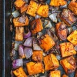 Pin image 2 roasted sweet potatoes