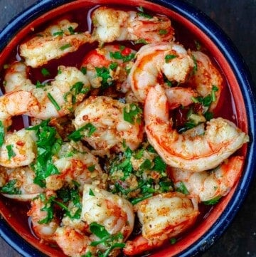 Gambas al Ajillo Spanish Garlic Shrimp