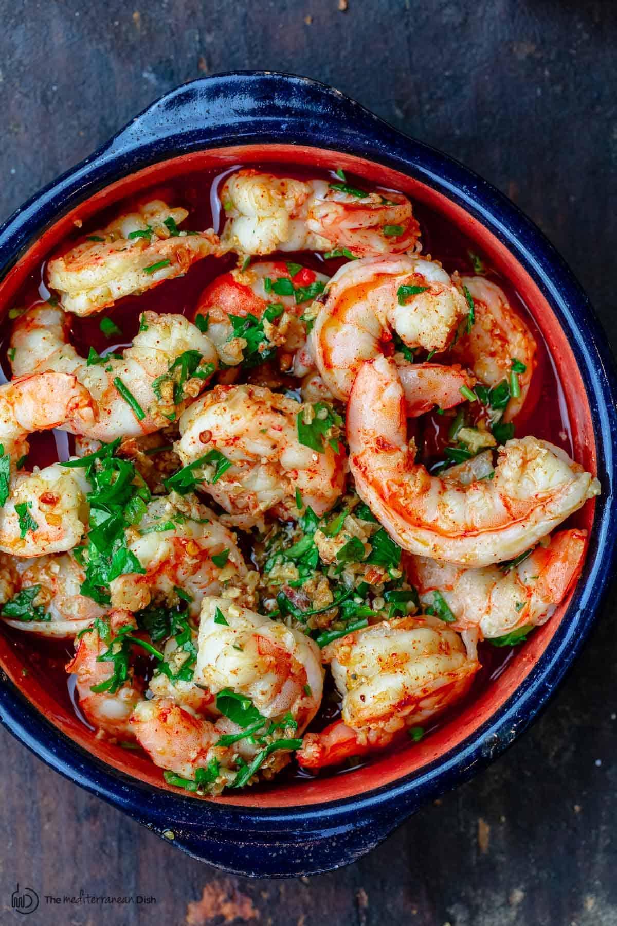 Gambas al Ajillo Spanish Garlic Shrimp
