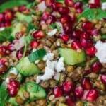 Lentil salad pin image 2