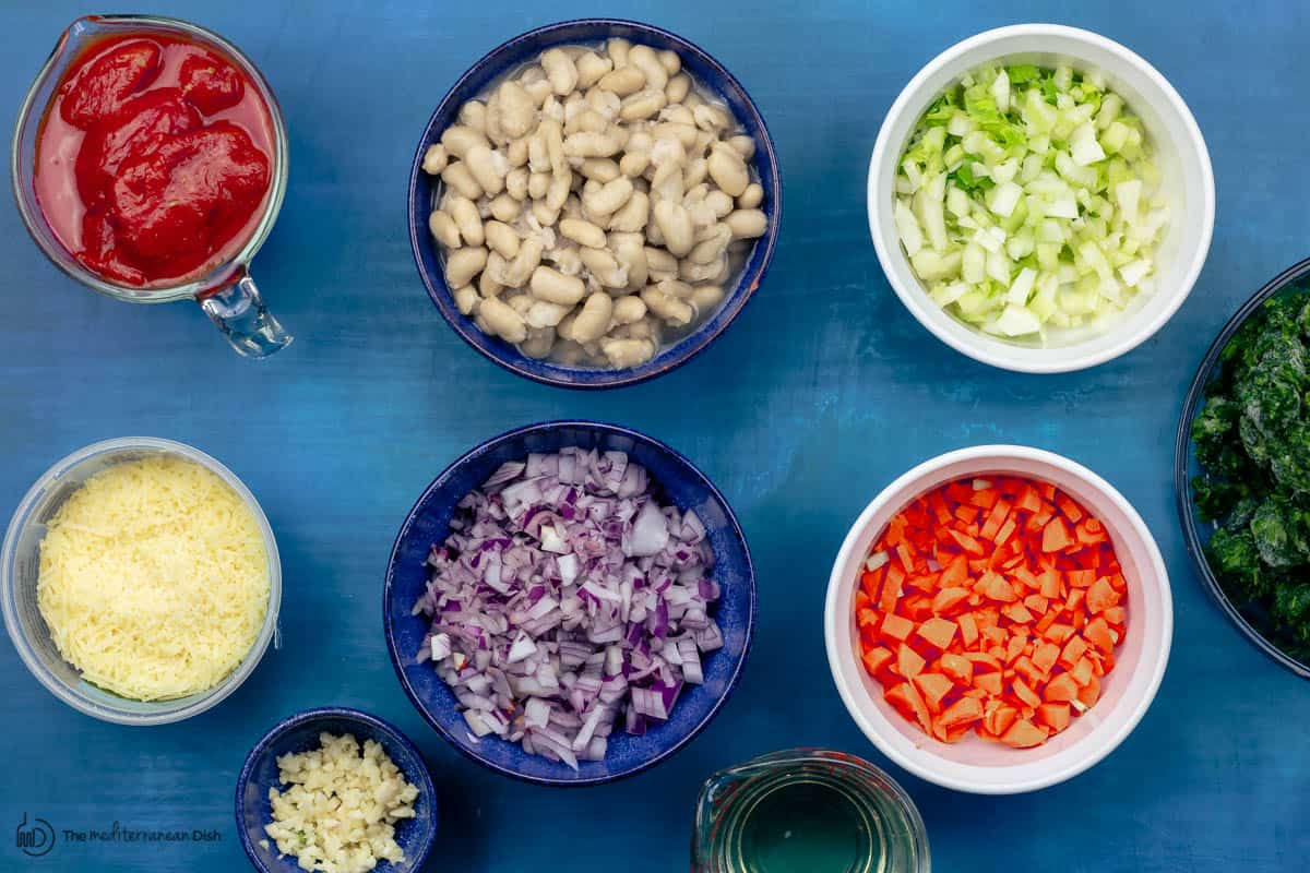 ribollita tuscan white bean soup ingredients