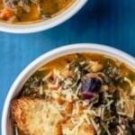 pin image 2 ribollita soup