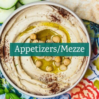 Appetizer and Mezze