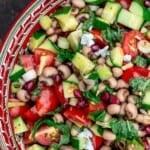 pin image 3 black eyed pea salad