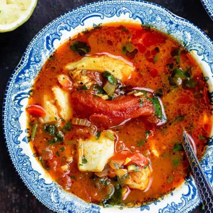 Mediterranean fish soup