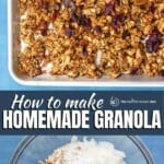 pin image 1 how to make granola