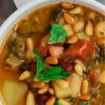pin image 1 bean soup