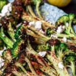 pin image 3 lemon roasted broccoli