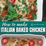 pin image 3 for how to make italian baked chicken breast