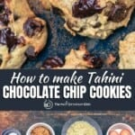 pin image 2 for how to make chocolate chip cookies