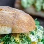 pin image 3 for avocado egg salad recipe