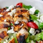 pin image 2 for Greek chicken salad