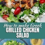 pin image 1 for how to make grilled chicken salad