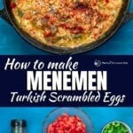 pin image 1 for mememen Turkish scrambled eggs with tomatoes