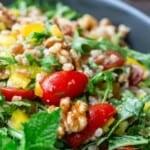 pinnable image 3 farro salad