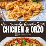 pin image 2 for chicken orzo recipe