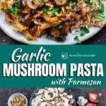 pin image 1 for mushroom pasta
