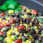 pinable image 3 for black bean and corn salad
