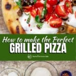 pin image 1 for grilled pizza recipe