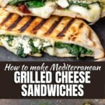 pinable image 3 Mediterranean grilled cheese sandwich