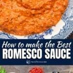 pinable image 1 for how to make romesco sauce