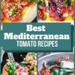 pin image 3 collage of tomato recipes