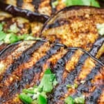 pin image 2 for grilled eggplant