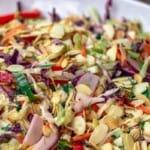 pin image 2 cabbage salad
