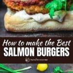 pin image 1 for salmon burgers recipe