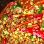 pin image 2 vegan chili