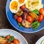pin image 1 healthy breakfast bowls with eggs and vegetables