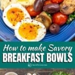 pin image 3 how to make breakfast bowls with eggs and vegetables