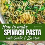 pin image 1 how to make spinach pasta