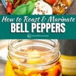 pin image 4 how to roast and marinate bell pepers